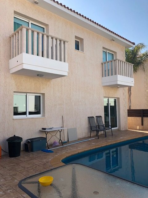 RENTED:  MVS18 Three Bed Villa, Part Furnished, Private Pool. Pernera €700pcm non ne