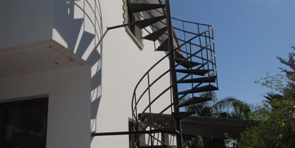 SPiral Stair to Roof Terrace