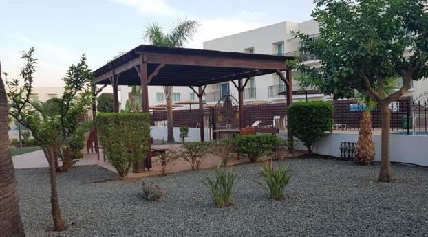 Communal gardens and pergola