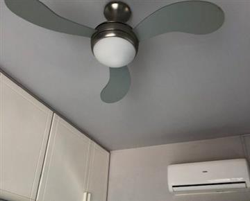 Ceiling fans in most rooms