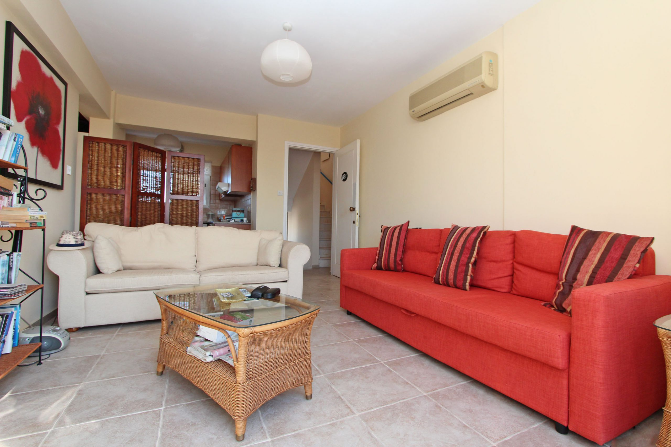 REF:  CCB21 One Bed Nicely Furnished Penthouse E400.00 pcm with Large Balcony