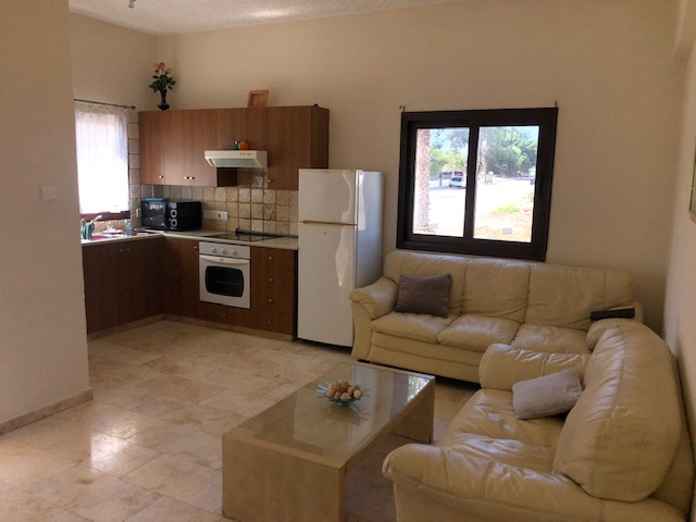 REF:  E6A101 Two Be Furnished apt.   Kapparis  €450pcm  OR €1000pcm Summer Rental