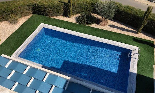 Arial Pool shot
